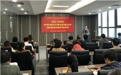 Đảng ủy cơ quan Ủy ban Dân tộc: Tập huấn công tác tổ chức Đại hội Đảng các cấp