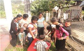 Lai Châu: Thiếu nước sinh hoạt vì không có nguồn nước