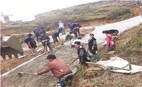 Xây dựng Nông thôn mới ở Lai Châu: Đạt khó, giữ còn khó hơn
