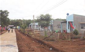 Khu dân cư kiểu mẫu ở vùng biên