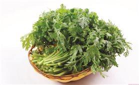 Công dụng chữa bệnh của rau cải cúc