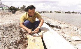 Bình Định: Kè xây chục tỷ, chưa bàn giao đã tan hoang