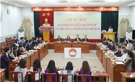 Lễ ký kết Quy chế phối hợp giữa Văn phòng Chủ tịch nước và Ban Thường trực Ủy ban Trung ương MTTQ Việt Nam