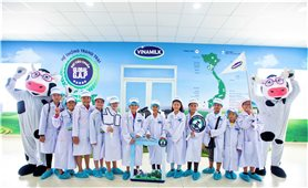 Công ty Cổ phần Sữa Việt Nam: Đồng hành cùng xã hội nuôi dạy trẻ