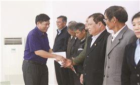 Thứ trưởng, Phó Chủ nhiệm UBDT Y Thông làm việc và chúc Tết đồng bào DTTS tại tỉnh Đăk Lăk