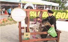 Bảo tồn, phát triển nghề dệt truyền thống ở Bắc Kạn