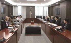 Bộ trưởng Đỗ Văn Chiến làm việc với Giám đốc Ngân hàng Thế giới tại Việt Nam