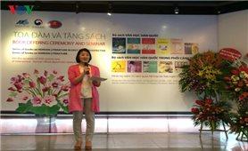 Bộ sách Văn học Hàn Quốc lần đầu ra mắt tại Việt Nam