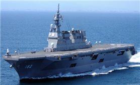 Nhật Bản điều 3 tàu chiến tới tập trận gần bán đảo Triều Tiên