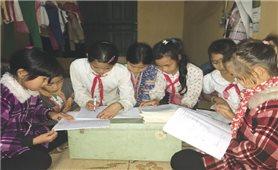 Cơ sở trường lớp học thiếu và khó