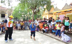Tết cổ truyền Chôl Chnăm Thmây của đồng bào Khmer: Cảm nhận từ Tân Mỹ