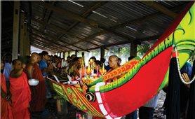 Lễ hạ thủy ghe ngo của đồng bào Khmer Sóc Trăng