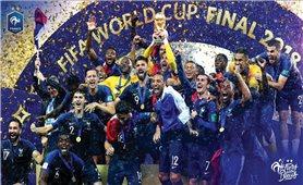 World Cup 2018 bế mạc: Đội tuyển Pháp giành ngôi vô địch