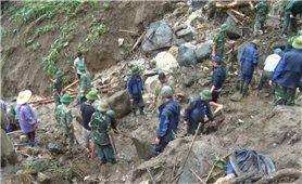 Lai Châu: Nhiều bản vẫn bị cô lập do sạt lở đất