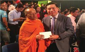 Đồng bào Khmer đón Sen Đolta trong niềm vui chan hòa