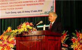 Lễ bàn giao hệ thống máy lọc nước sạch cho trường Phổ thông Dân tộc nội trú THPT tỉnh Tuyên Quang