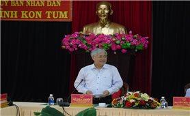 Bộ trưởng, Chủ nhiệm UBDT Đỗ Văn Chiến: Kiểm tra, giám sát hoạt động tín dụng tại hai tỉnh Kon Tum và Gia Lai