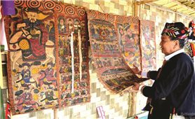 Độc đáo-tranh thờ của người Dao ở Tuyên Quang