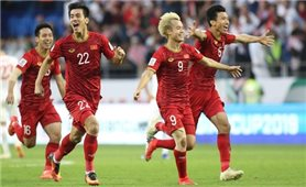 Hát tiếp khúc quân hành, Việt Nam vào tứ kết Asian Cup