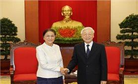 Tăng cường hợp tác giữa Quốc hội hai nước Việt-Lào