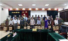 Ủy ban Dân tộc: Tiếp Đoàn đại biểu Người có uy tín trong đồng bào dân tộc thiểu số tỉnh Quảng Trị