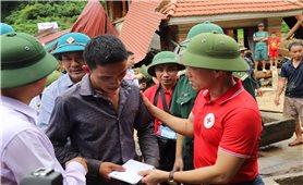 Trung ương Hội Chữ thập đỏ Việt Nam: Cứu trợ đồng bào bị thiệt hại do bão số 3