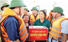 Hà Tĩnh: Nỗ lực ổn định cuộc sống người dân sau mưa lũ