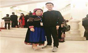 Nữ sinh người Pu Péo nỗ lực học tập để trở thành cô giáo
