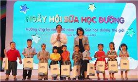 Hưởng ứng Ngày Sữa học đường thế giới