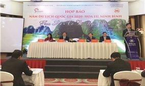 Họp báo giới thiệu Năm Du lịch quốc gia 2020 - Hoa Lư, Ninh Bình