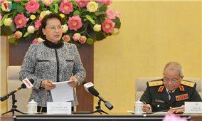 Chủ tịch Quốc hội Nguyễn Thị Kim Ngân gặp mặt cựu chiến binh bộ đội đặc công