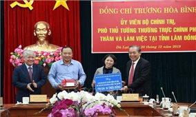 Phó Thủ tướng Thường trực Chính phủ làm việc tại Lâm Đồng