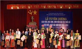 Vĩnh Phúc: Tuyên dương 29 giáo viên và 192 học sinh, sinh viên DTTS xuất sắc, tiêu biểu