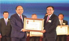 EVN được tặng thưởng Huân chương Lao động hạng Nhất