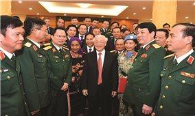 Tổng Bí thư, Chủ tịch nước Nguyễn Phú Trọng: Gặp mặt đại biểu điển hình tiên tiến toàn quốc