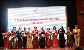 16 tập thể và cá nhân được trao giải thưởng Phụ nữ Việt Nam 2019