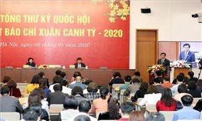 Văn phòng Quốc hội gặp mặt các cơ quan thông tấn, báo chí nhân dịp Xuân Canh Tý 2020