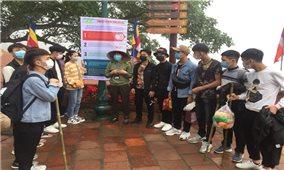 Yên Tử (Quảng Ninh): Tăng cường các giải pháp phòng chống dịch cho du khách