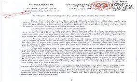 Ủy ban Dân tộc chỉ đạo các biện pháp phòng, chống dịch Covid-19