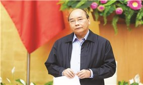 Thủ tướng Nguyễn Xuân Phúc chủ trì họp Thường trực Chính phủ về chống Covid-19