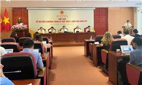 Họp báo thông tin về Kỳ họp thứ 9, Quốc hội khóa XIV