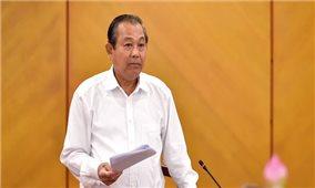 Phó Thủ tướng Thường trực Trương Hòa Bình chỉ đạo tăng cường kiểm tra, thanh tra công tác cán bộ