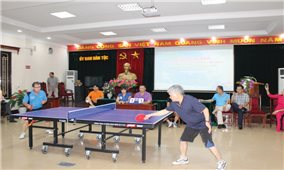 Báo Dân tộc và Phát triển tổ chức Giải Bóng bàn mở rộng lần thứ 2