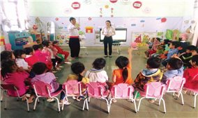 Trẻ em hứng thú đến trường nhờ mô hình dạy học tích cực