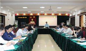 Ủy ban Dân tộc triển khai kế hoạch CCHC năm 2019