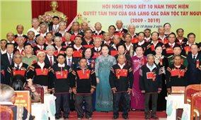 10 năm thực hiện Quyết tâm thư của Già làng các dân tộc Tây Nguyên