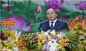 """Thủ tướng Chính phủ Nguyễn Xuân Phúc: """"Bộ đội Biên phòng phải thành thạo ngoại ngữ và tiếng của đồng bào các dân tộc khu vực biên giới"""""""