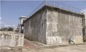 Nhà máy nước sạch 113 tỷ vừa sử dụng đã hư hỏng