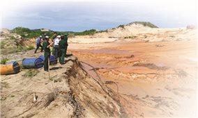 Khai thác titan tại Bình Thuận: Lợi bất cập hại