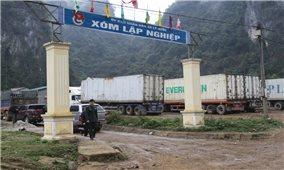 """Phát triển thương mại khu vực biên giới: Cần gỡ nhiều """"nút thắt"""""""
